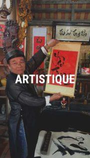 atelier de calligraphie Hanoi