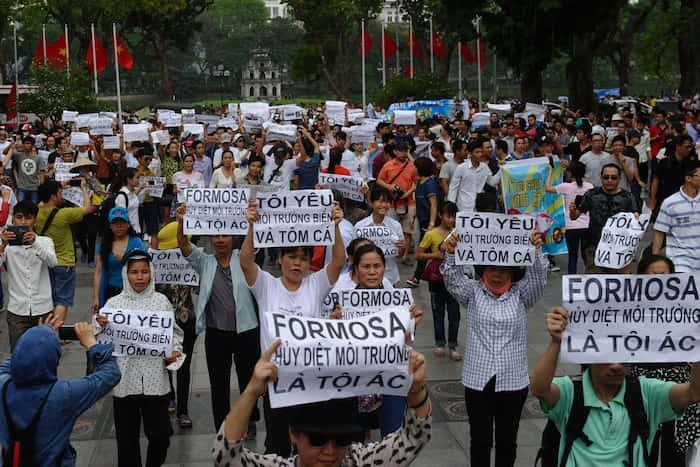 conglomérats tourisme - Conflit foncier est l'origine principale des manifestations. © Hoang Dinh Nam / RFA