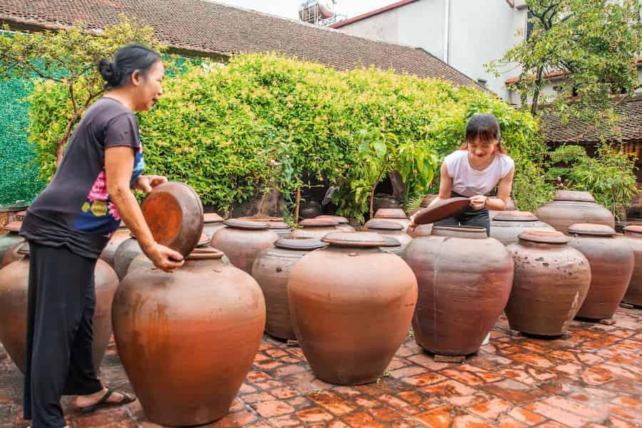 Duong Lam et saumure de fève