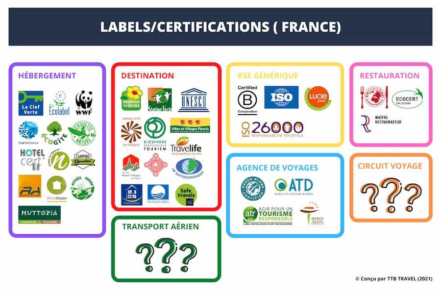 cartographie labels tourisme