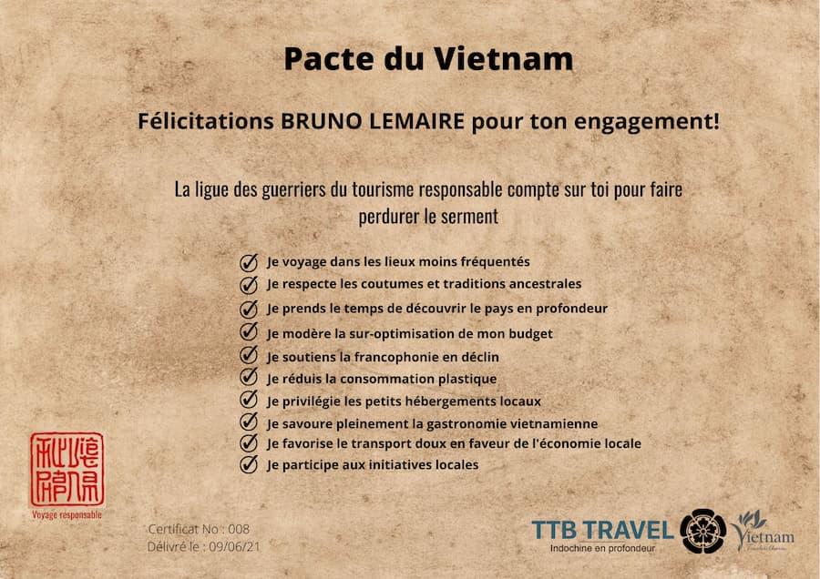 pacte du vietnam