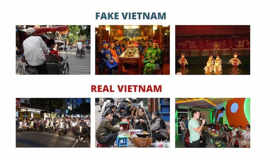 Vietnam Fake Vs Vietnam vrai